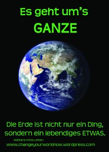 Earth Rights mit Blog-Adresse