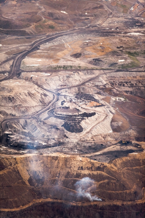Mountaintop Removal mining operation in or near Boone County, WV.