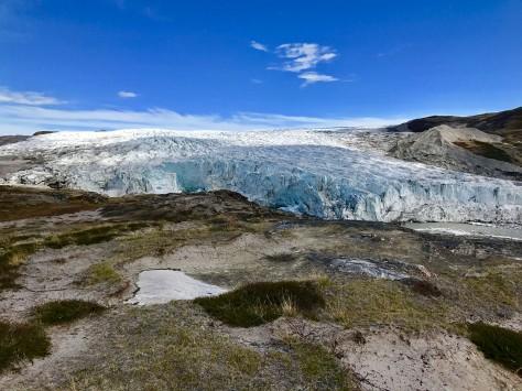 Tag 2 Russell Gletscher aus der Ferne